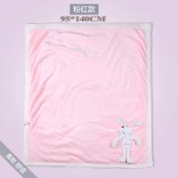 婴儿毛毯珊瑚绒新生儿空调房毯子四季通用秋冬夏凉被儿童盖被宝宝