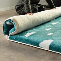 床垫1.8m床褥子加厚保暖榻榻米单人学生宿舍1.2米1.5垫被