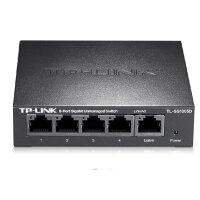 TP-Link TL-SF1005D 5口百兆交换机 4口网线分线器100M网络分流器以太网交换器