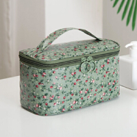 韩国新款小号加厚大容量便携手提化妆包可爱少女简约洗漱包收纳包