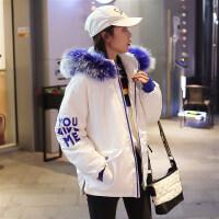学生韩版bf原宿加厚面包服羽绒chic冬季棉衣服女外套