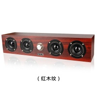 2018新款 眼 X11 多媒体音箱 台式机笔记本电脑USB桌面低音炮木质音响