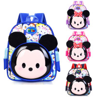 新款幼儿园男女宝宝小书包大小班双肩背2-5岁零食包