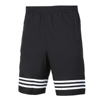 Adidas阿迪达斯男裤 跑步运动休闲透气五分裤短裤 BK3252