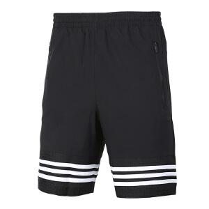 Adidas阿迪达斯男裤 2017夏季新款跑步运动休闲透气五分裤短裤 BK3252