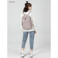 2020新款14寸电脑包双肩包女时尚简约大容量书包休闲商务电脑背包