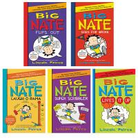 英文原版 Big Nate 大内特系列14册套装 Lincoln Peirce 青少年儿童小说 章节桥梁书