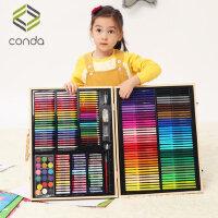 儿童水彩笔套装初学者画画笔幼儿园小学生用多功能水彩画笔36色宝宝绘画颜色笔小孩手绘彩笔安全可水洗彩色笔