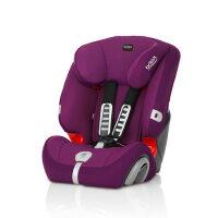 【当当自营】britax宝得适超级百变王9个月-12岁汽车儿童安全座椅3c认证 闪耀紫