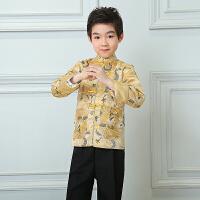 儿童唐装男童套装男宝宝周岁礼服抓周衣服汉服中国风童装新年唐装