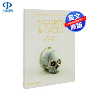 英文原版 骷髅头珠宝首饰设计参考指南艺术书 Figures and Faces: The Art of Jewelry