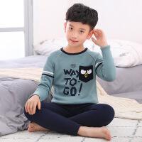 男童保暖内衣套装加绒冬季加厚儿童保暖衣中大童8-9-12岁小孩衣服