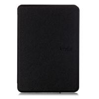 全新Kindle Paperwhite4保护套电子书阅读器皮套轻薄防摔壳 黑色 带透明膜