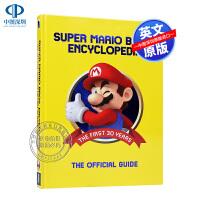 现货英文原版 超级玛丽大百科官方指南艺术集画集 精装 Super Mario Encyclopedia Nintendo