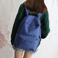 双肩包女韩版原宿 高中学生书包少女小清新范森系背包