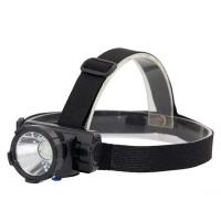 户外防水夜钓探照灯头戴LED手电筒充电钓鱼灯