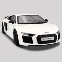 美驰图1:18奥迪R8V10plus精装版跑车模型仿真合金汽车金属模型 奥迪V10 Plus白色精装版003