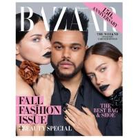 包邮全年订阅 Harper Bazaar(US) 时尚芭莎美国英文原版 女性时尚杂志 年订10期