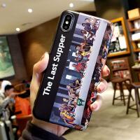 潮牌nba乔丹iPhonex手机壳苹果7詹姆斯苹果8plus磨砂软套6s男 小6/6s *黑底 联名NBA球星 全包软