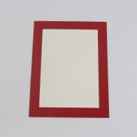 家居生活用品10个简易8开卡纸画框 彩厚纸相框裱儿童画8K 4开 A4 A3可挂墙