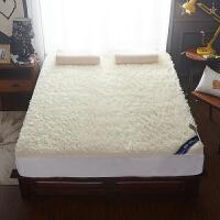 羊毛床垫1.5米加厚羊羔绒床褥子1.8m床双人折叠垫被