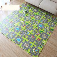 儿童爬行垫婴儿爬爬垫泡沫地垫卡通拼接垫宝宝游戏垫30 交通拼图 单片30*30*1cm(9片/包)