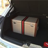 后备箱特大号汽车储物箱车载收纳箱抽屉箱置物箱