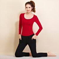新款专业女士宽松运动瑜珈服三件套短款背心长袖T恤显瘦健身房九分裤瑜伽服套装女