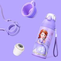 宝宝水杯儿童水壶防摔幼儿园小孩喝水保温杯带吸管两用a232