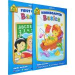 【4-7岁入学练习2册】School Zone Preschool /Kindergarten Scholar 入学基