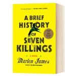 七次屠杀的简史 英文原版 A Brief History of Seven Killings 布克文学奖 牙买加枪杀事