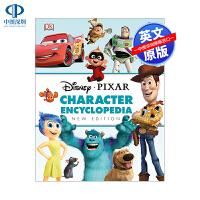 英文原版 迪士尼皮克斯动画人物图解百科 Disney Pixar Character Encyclopedia DK精装
