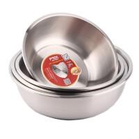 FEX 富尔兴304不锈钢 厨房菜盆汤盆洗菜盆料理盆家用