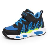 加绒加厚儿童棉鞋中童大童保暖篮球鞋男童鞋子运动鞋冬鞋防滑 31-40