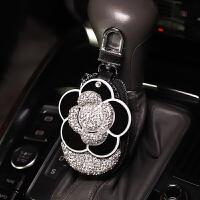 车载汽车用钥匙包韩国可爱汽车钥匙套创意镶钻女士通用保护遥控套