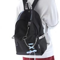 中学生书包女双肩包男包韩版休闲时尚个性高中生双肩背包