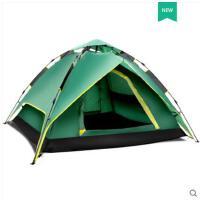登山野营便携帐篷全自动防雨野外露营旅行户外帐篷3-4人家庭室内