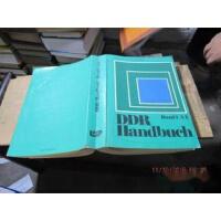【旧书二手书九成新】ddr handbuch band 1 a-l 2047【沫若书店】