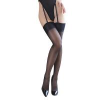 性感情趣内衣激情用品套装包芯丝中长筒黑丝袜透视制服女
