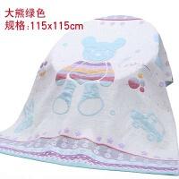 纯棉被婴儿童纱布全棉幼儿园宝宝薄被夏季空调盖毯子 110cm*115cm
