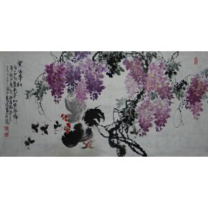 省美协   杨成功   紫依梦幻   *
