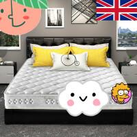 弹簧床垫软硬两用天然乳胶1.5m1.8m床双人椰棕垫定做
