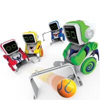 �和�男孩玩具3-6周�q��踊�舆b控踢球足球�C器人