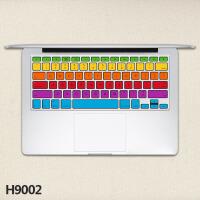 苹果笔记本键盘贴macbook Retina pro air 11 13.3 贴纸SN5