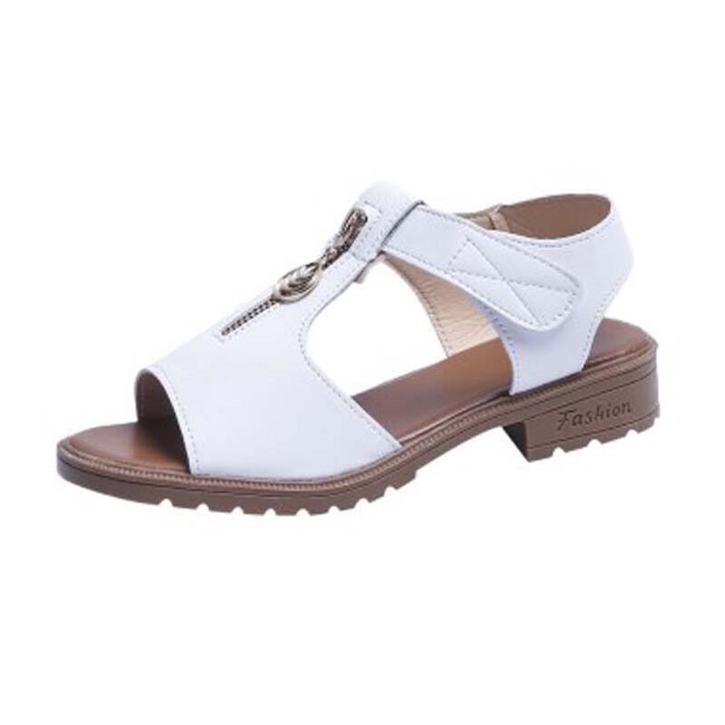 WARORWAR新品YN13-A009夏季韩版低跟舒适女凉鞋
