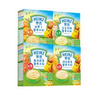 亨氏米粉 婴儿荤素营养米粉225g*4(胡萝卜+五谷+鸡肉+鱼肉) 宝宝辅食