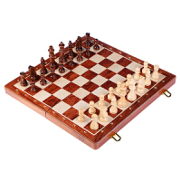 木质磁性国际象棋儿童套装折叠棋盘智力桌面游戏比赛