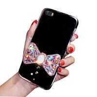 苹果5s手机壳平果i5套iph0ne5女款ipone5se透明A1723软壳5se软ip5保护套ip 苹果5S -贴蝴