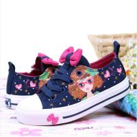 儿童帆布鞋女童布鞋韩版潮板鞋春夏新款单鞋低帮学生鞋
