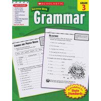 Scholastic Success with Grammar: Grade 3 学乐必赢阅读:3年级语法 ISBN9